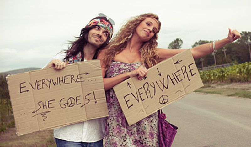 hippy hitchhikers
