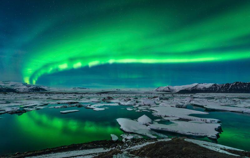 aurores boréales voir