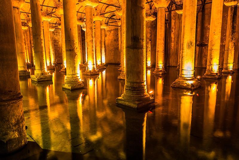 Достопримечательности Стамбула: Цистерна Базилика