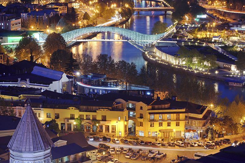 Старый город в Тбилиси
