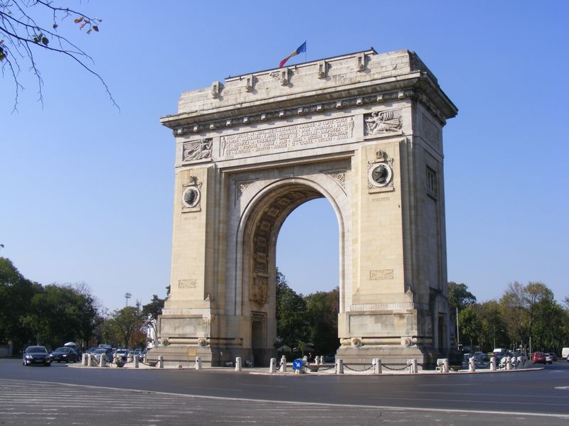Bucarest cosa vedere: Arco di Trionfo