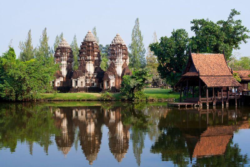 Парк Ancient Siam в Бангкоке, Таиланд