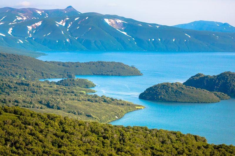 Курильское озеро на Камчатке