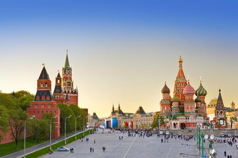 Plaza roja Moscú Rusia