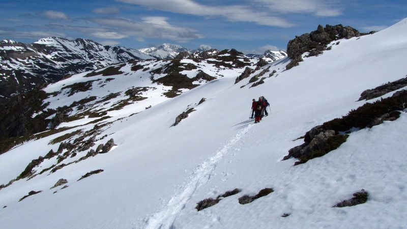 nieve en somiedo asturias