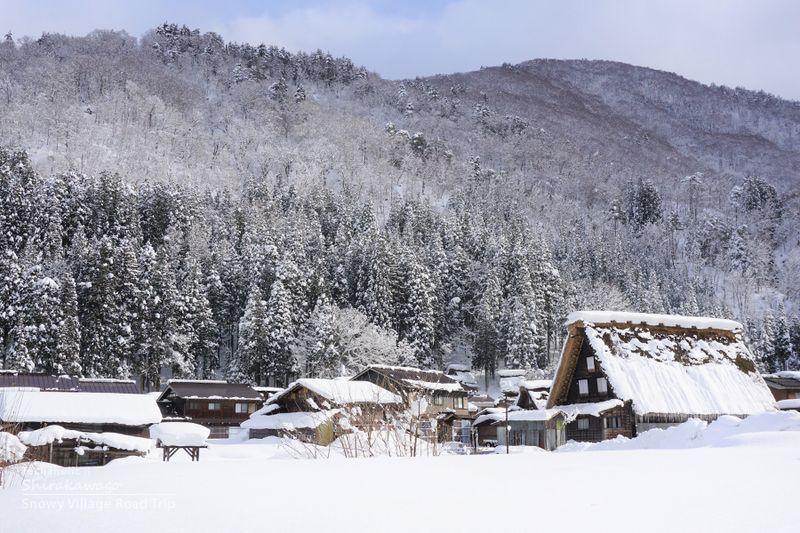 หมู่บ้านชิราคาวาโกะ ประเทศญี่ปุ่น