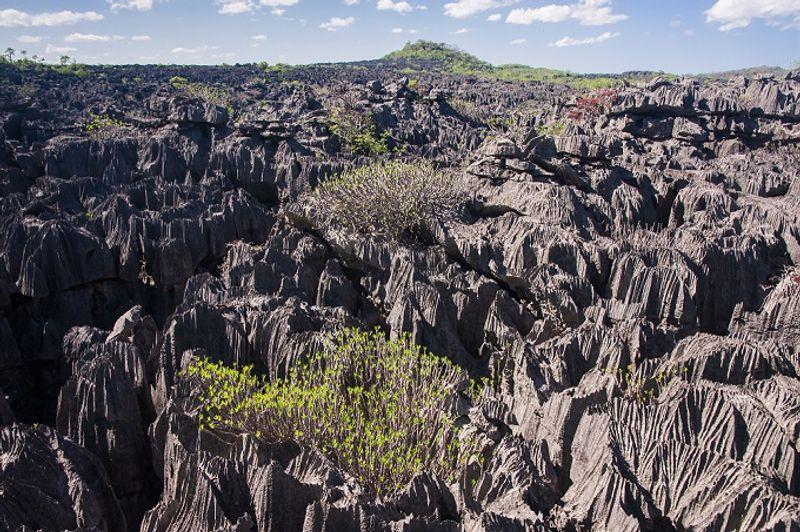 parque nacional tsingy de bemahara en madagascar
