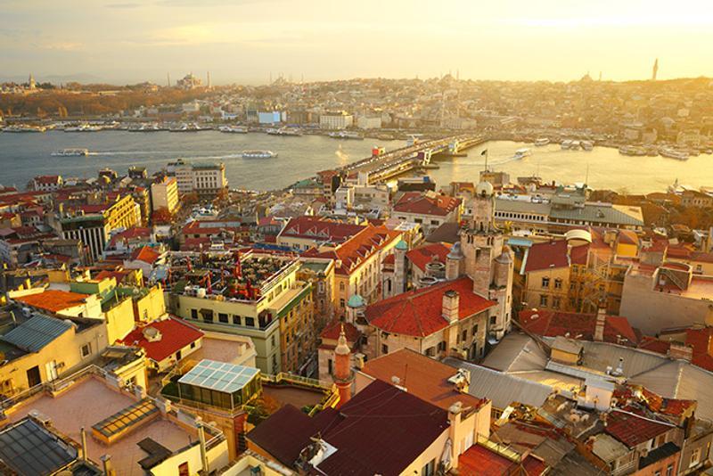 Достопримечательности Стамбула: Вид с Галатской башни