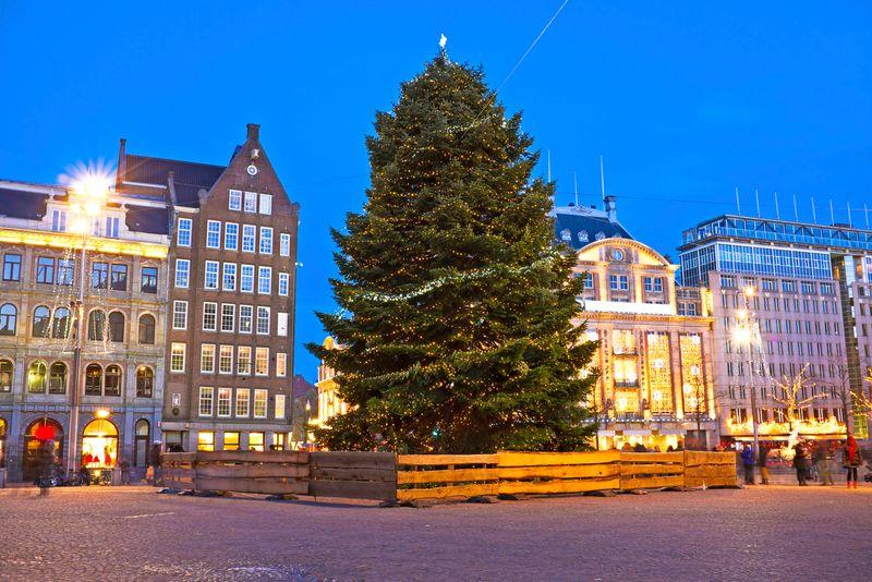 Viajar en diciembre: Ámsterdam
