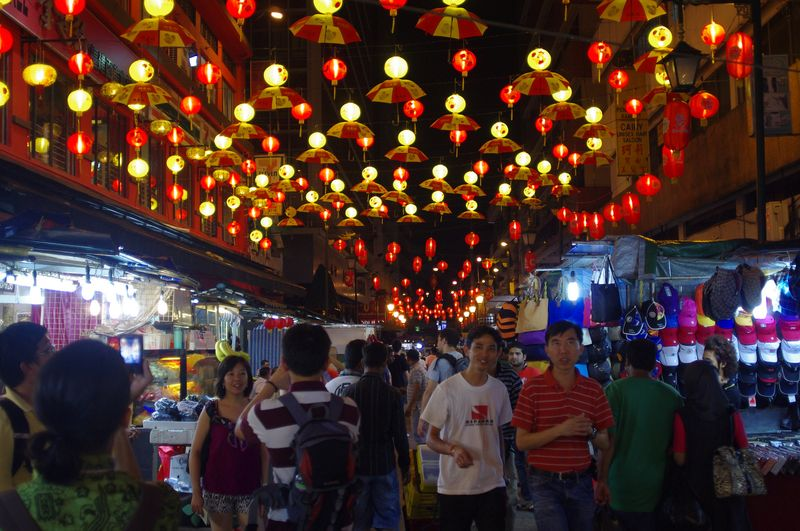 Petaling Street in KL's China Town