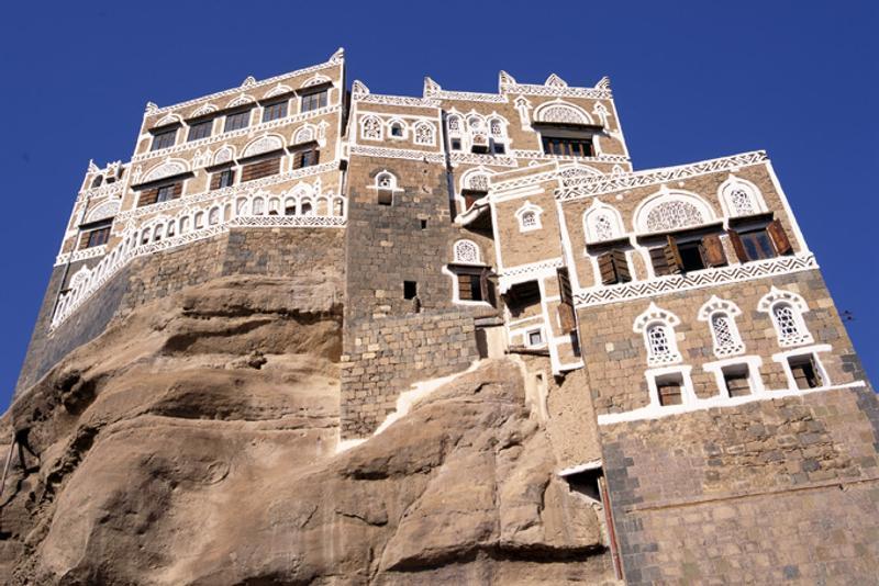 Дворец имама Яхьи в Сане, Йемен