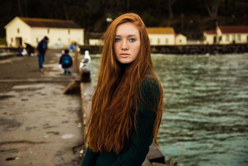 """Жительница Сан-Франциско из фотопроекта Михаэлы Норок """"Атлас красоты"""""""