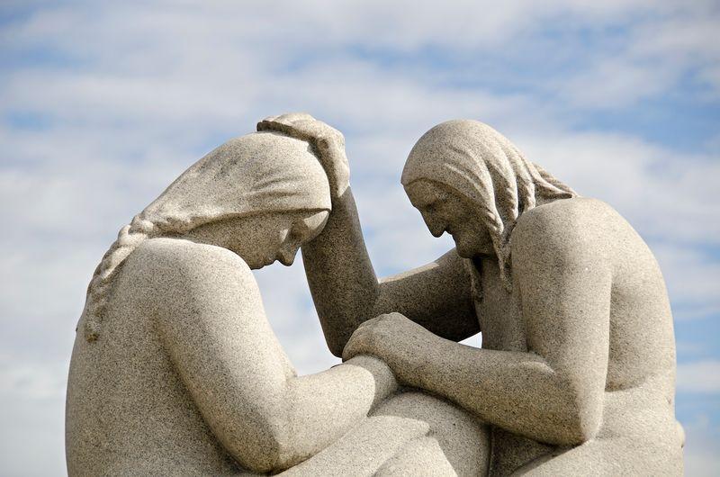 Скульптуры Густава Вигеланда в одноименном парке в Осло