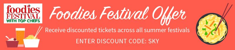 Foodies Festival Offer