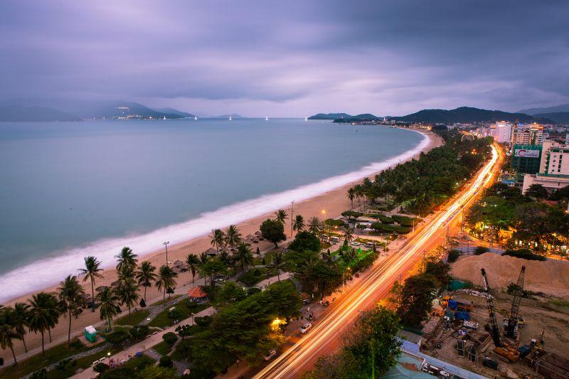 Sunset over Nha Trang Bay