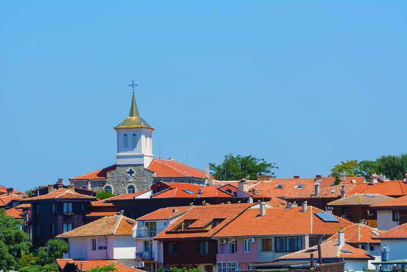 Nesebur on the Black Sea coast of Bulgaria