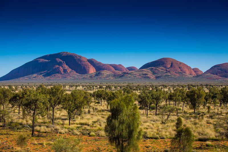 Imagen del Outback australiano