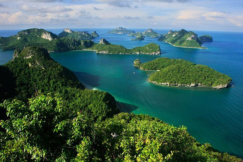 Национальный парк Ангтхонг в Таиланде