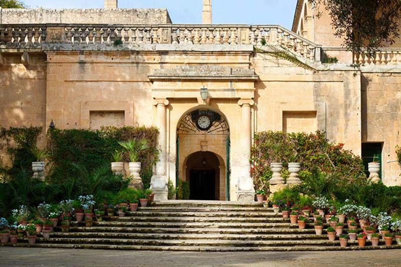 palacio de san anton en malta juego de tronos