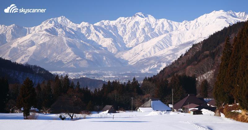 Japan Alps, Hakuba – mura, Japan