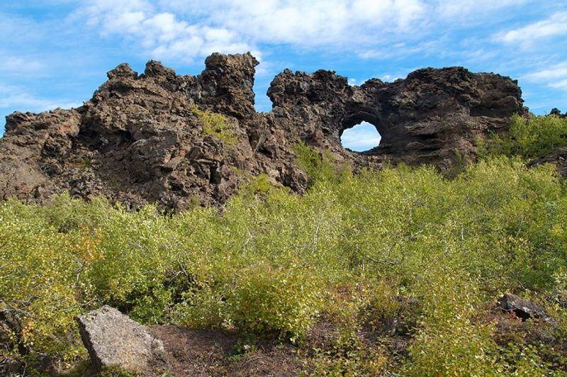 dimmuborgir en islandia juego de tronos