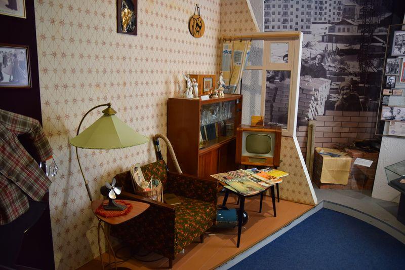 комната из 60-х в Хабаровском краевом музее Гродекова