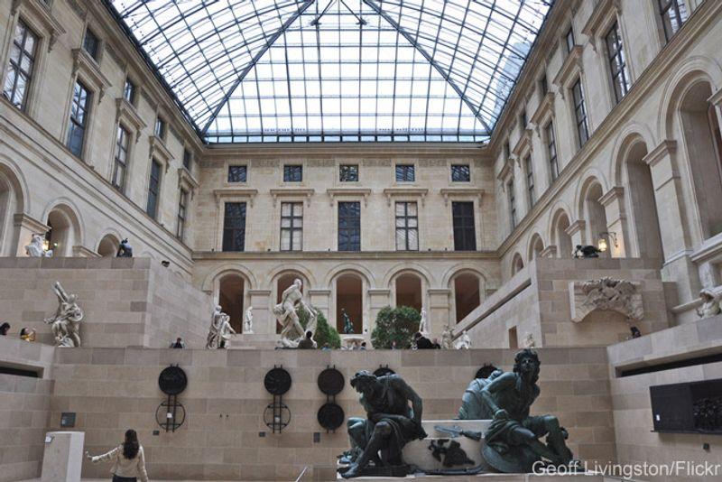 Cour richelieu, Musée du Louvre