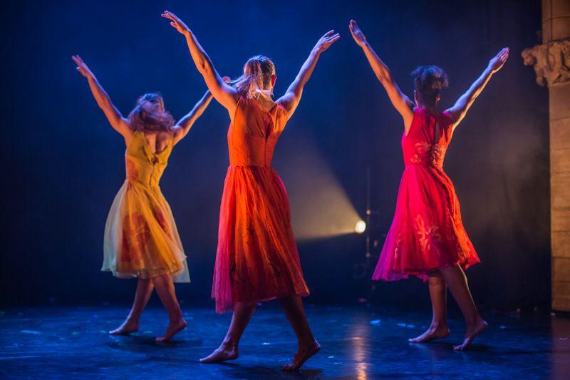 Performers at the Edinburgh Fringe