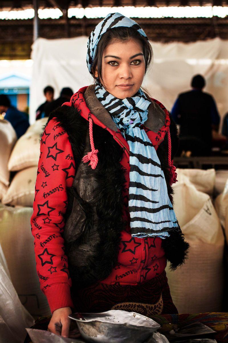 "Жительница Узбекистана из фотопроекта Михаэлы Норок ""Атлас красоты"""