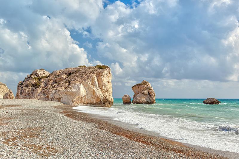 Петра-ту-Ромиу или Скала Афродиты в Пафосе, Кипр