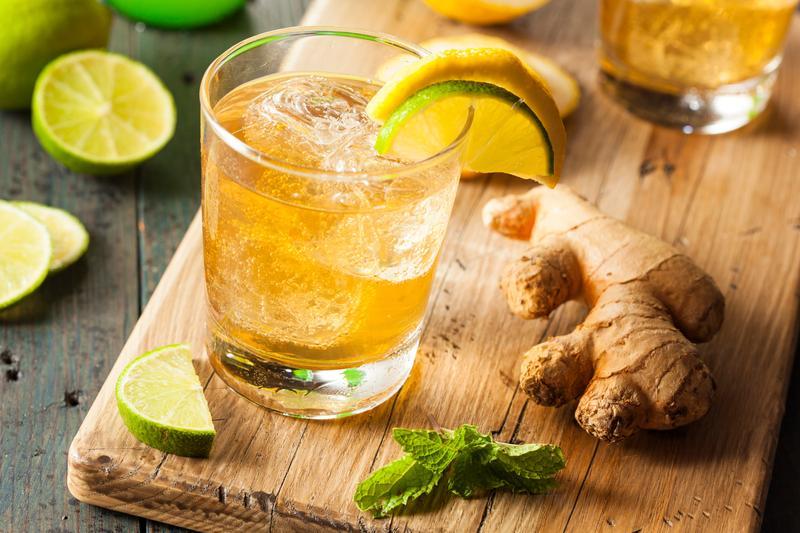 Имбирный эль с лимоном