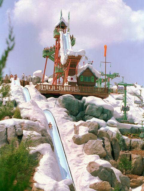 Parque acuático Blizzard Beach en Walt Disney World Orlando