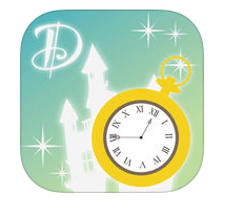 東京迪士尼樂園地圖排隊App