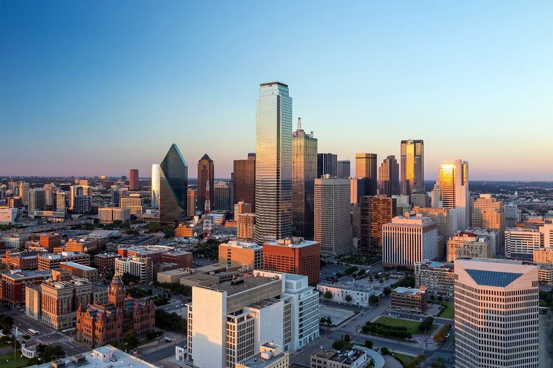 skyline de dallas en texas