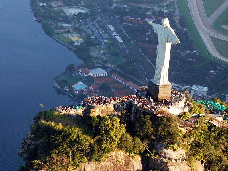 Patung Christ Redeemer, Brazil