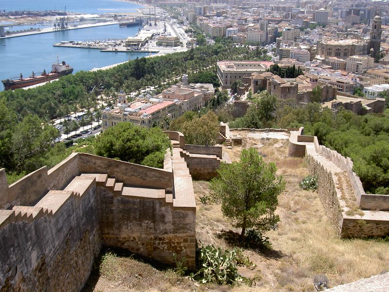 Best things to do in Malaga: Gibralfaro Castle