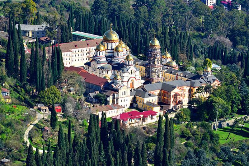Новоафонский монастырь — главная православная святыня Абхазии