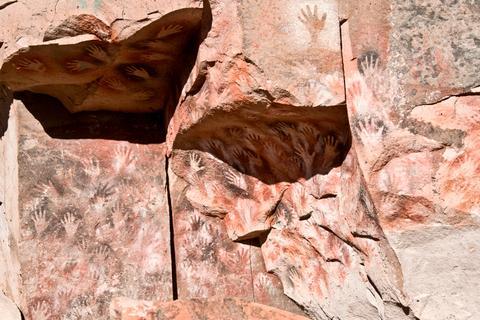 Eine Höhle für Geschichte-Fans: die Cueva de las Manos.