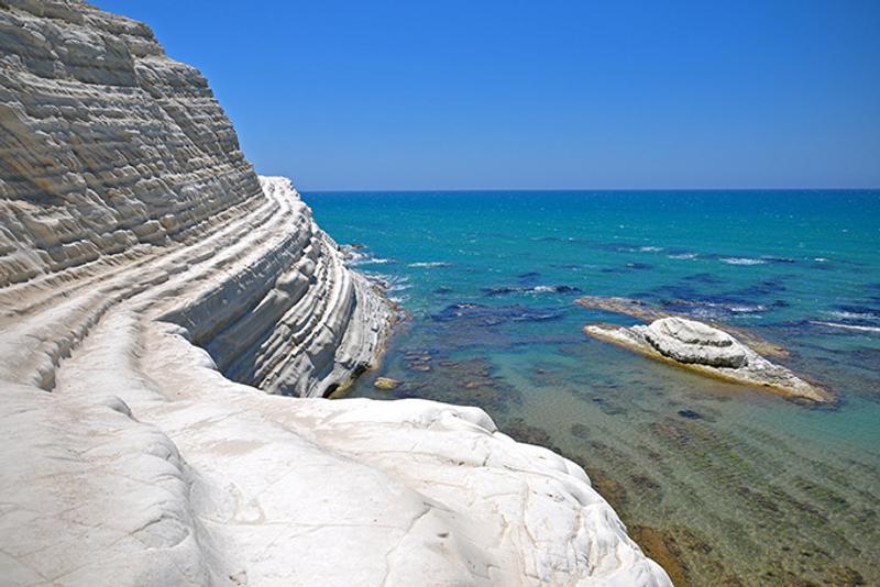 Пляжи Италии: «Турецкая лестница» (Scala dei Turchi)