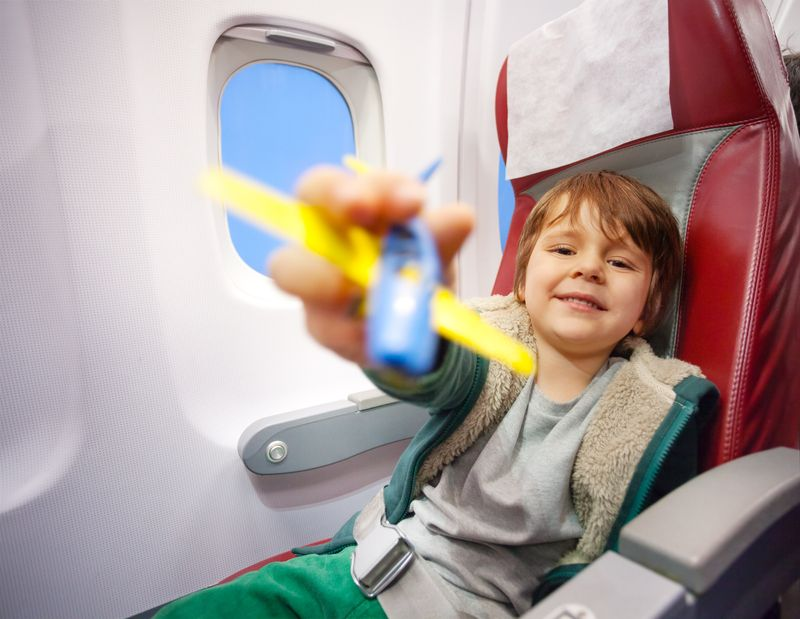 Hidden extras you can get on flights: help with the kids