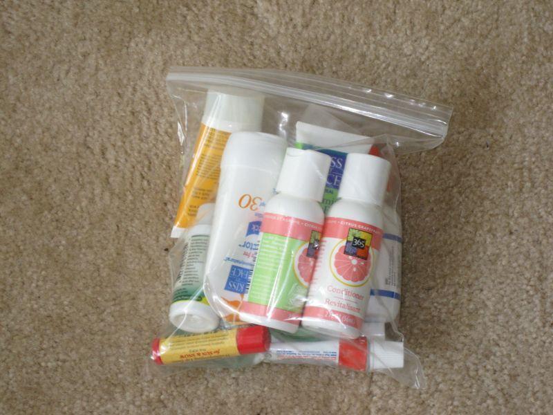 Как правильно упаковать жидкости в ручной клади