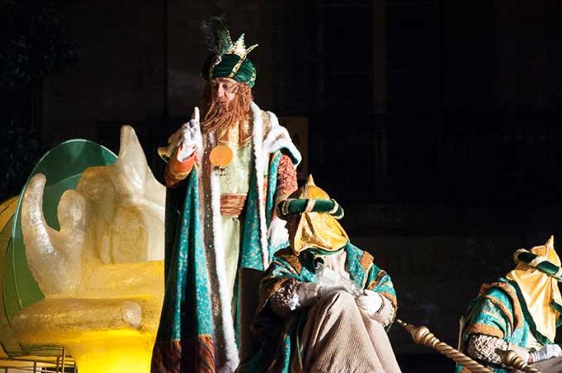 Cabalgata de Reyes de Barcelona © Pablo Cereseto / Flickr