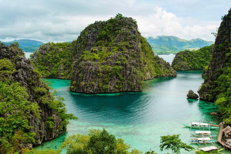 Danau Kayangan, Coron, Filipina