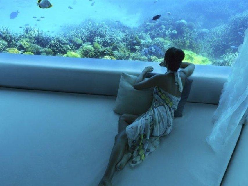 Подводный спа-центр на Мальдивах