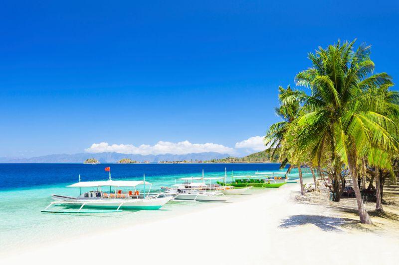A gorgeous beach in Palawan