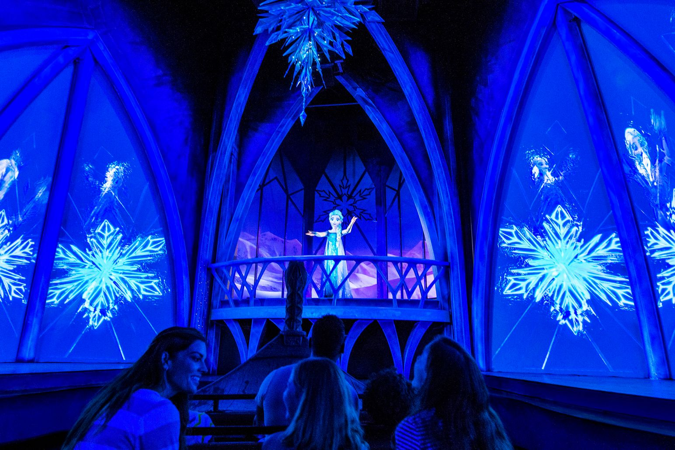 que ver Frozen en Epcot Walt Disney World Orlando