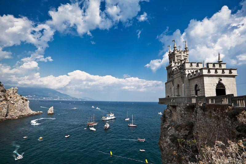 Ласточкино гнездо, замок в Крыму