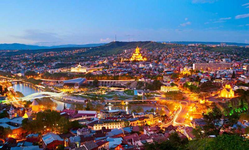 Крепость Нарикала в Тбилиси, Грузия