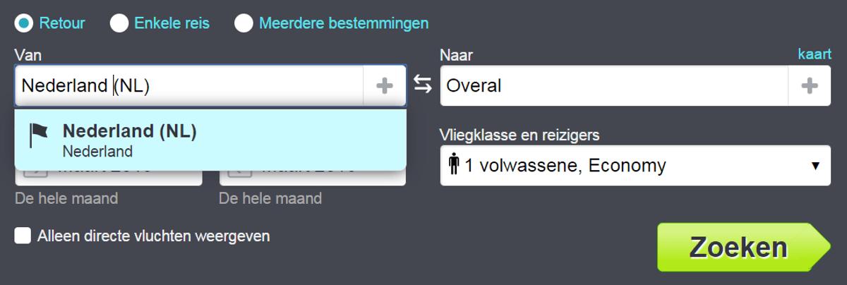 Skycanner nederland overal