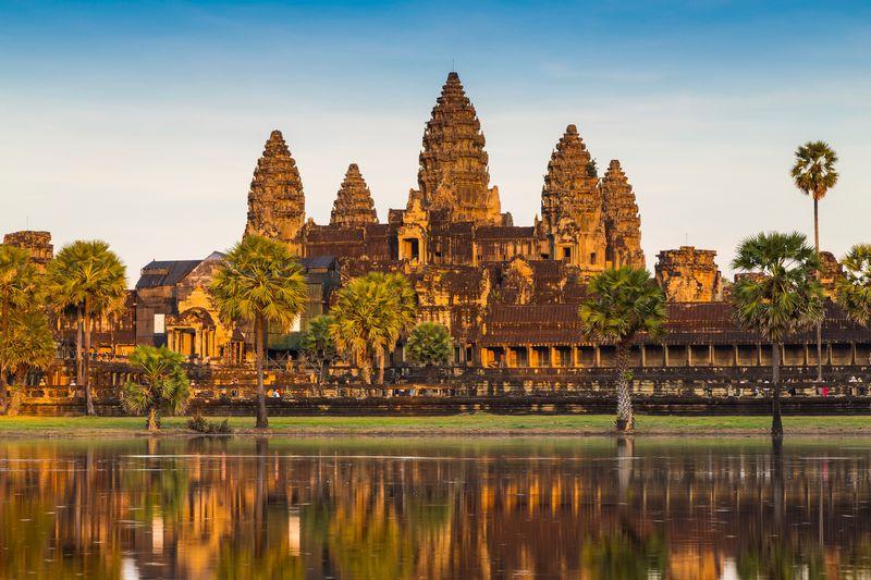 Angkor Wat, temple, Cambodia